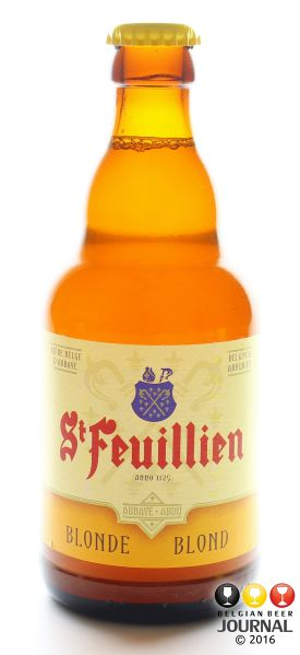 The first beer we are BrewViewing for JULY 2016 BREWERY OF THE MONTH is ST. FEUILLIEN BLONDE. This beer has a superb flavor profile, and embodies the brewing traditions and excellence that St. Feu…