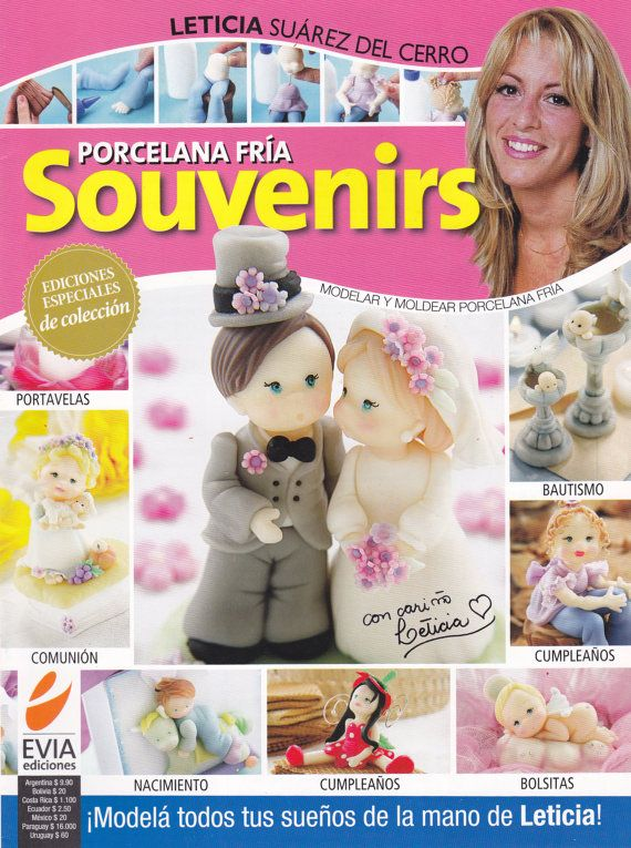 Cold Porcelain Magazine SOUVENIRS 2011 by Leticia by AmGiftShoP, $12.99