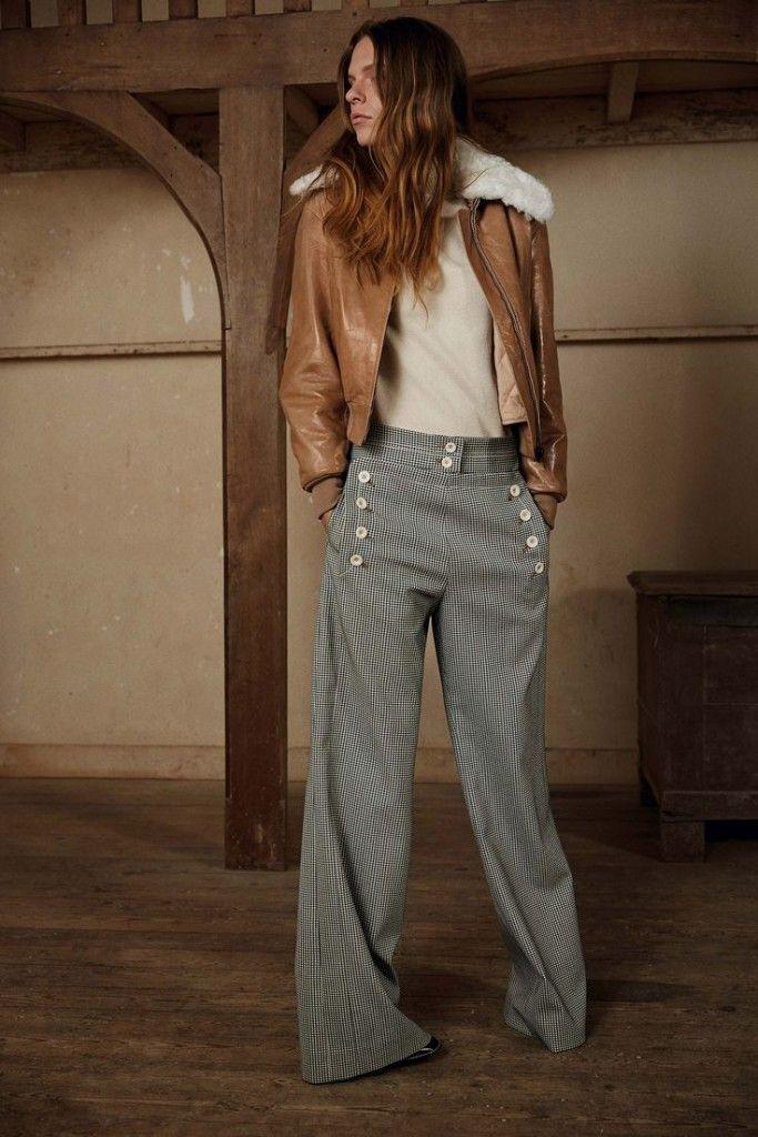 Le pantalon à pont   Basics&co