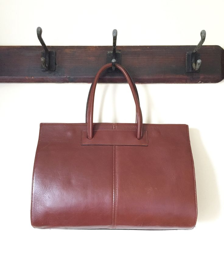 Vintage 1960s leather Handbag