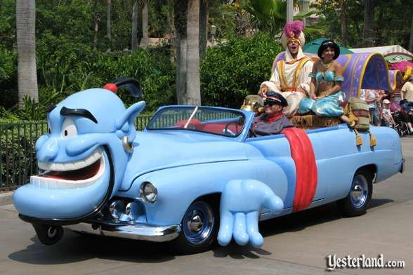 #Crazy #Cars Aladdin car in #Disney Stars and #Motor #Cars parade