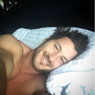 "Let's be honest, this wouldn't be hard to wake up to every morning. | Community Post: 19 Times Val Chmerkovskiy From ""DWTS"" Proved He's Husband Material"