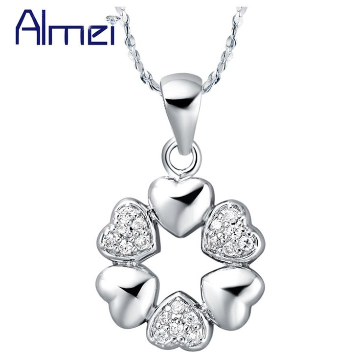 Find More Pendant Necklaces Information about Necklace Heart Romantic Vintage Jewelry 925 Sterling Silver Bohemian Rhinestones Accessories Fashion Gift 2015 Ulove N580 Yumeng,High Quality jewelry aluminum,China jewelry string Suppliers, Cheap jewelry box photo frame from ULove Fashion Jewelry Store on Aliexpress.com