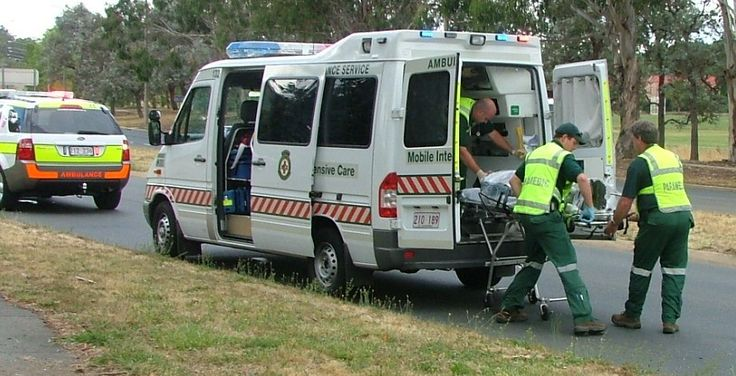 Paramedics Save People'S Lives By Coming To Them In An Ambulance