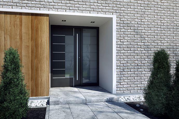 Moje nové vchodové dvere.. A ešte som na nich aj ušetrila :) http://ddtrade.sk/clanky/na-com-usetrite-pri-kupe-vchodovych-dveri-do-domu