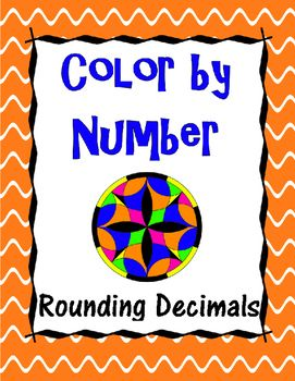 In this activity, students will practice rounding decimals (to the nearest tenth, hundredth, and thousandth) as they color!  Students will use their answers to color a the mandala to reveal a beautiful, colorful pattern that makes excellent classroom decor!