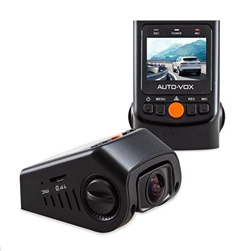 """AUTO-VOX Upgraded Version B40C Hidden Capacitor Dashcam 1.5"""" LCD FHD 1080p 170 Wide Angle Dashboard Camera Recorder Car Dash Cam with G-Sensor WDR Loop Recording"""