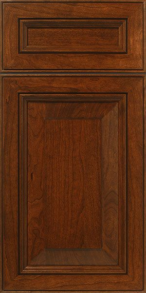 S915 Brookline Stained Cherry Cabinet Door And Drawer Front With Mitered  Joinery Walzcraft
