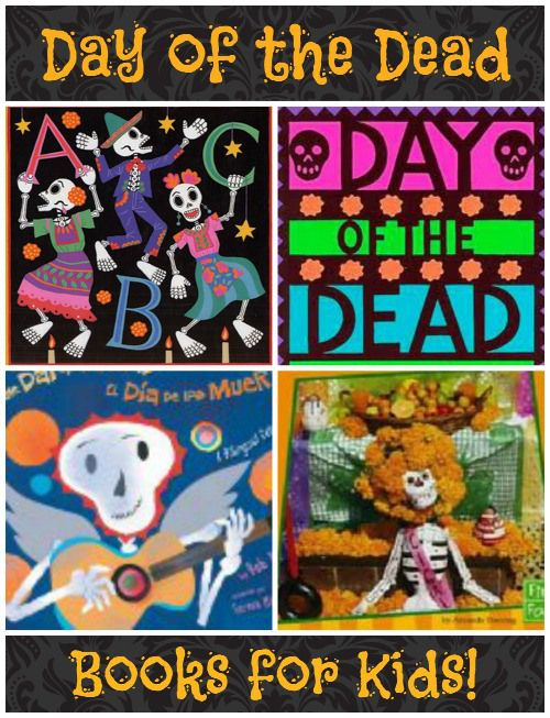 Day of the Dead Books for Kids- a selection of age-appropriate books to teach kids about this important holiday from Mexico.