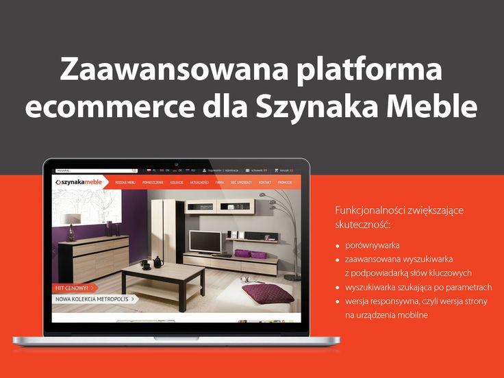 Zaawansowana platforma #ecommerce dla Szynaka Meble #migomedia