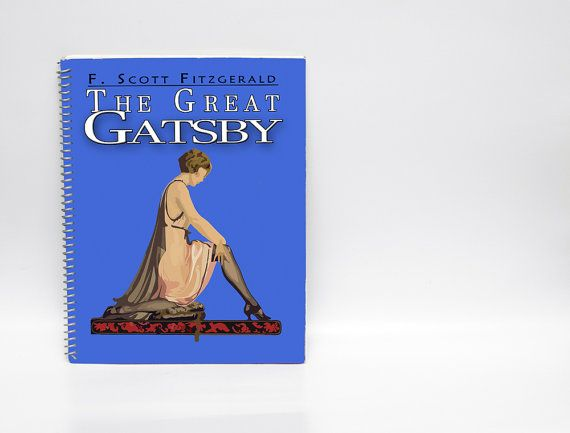 Lined Journal: The Great Gatsby  100 page by LostRiverPapers