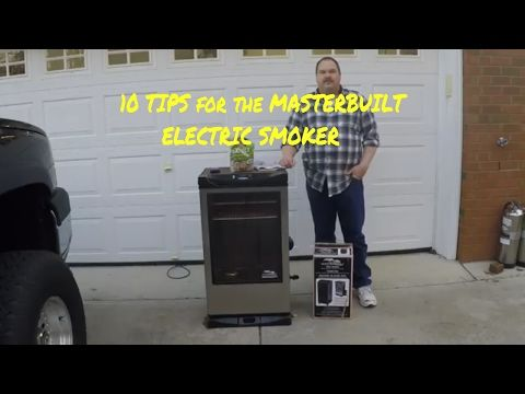 How To Clean Masterbuilt Electric Smokers - YouTube