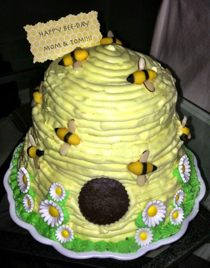 Bumble Bee Hive Cake Pan
