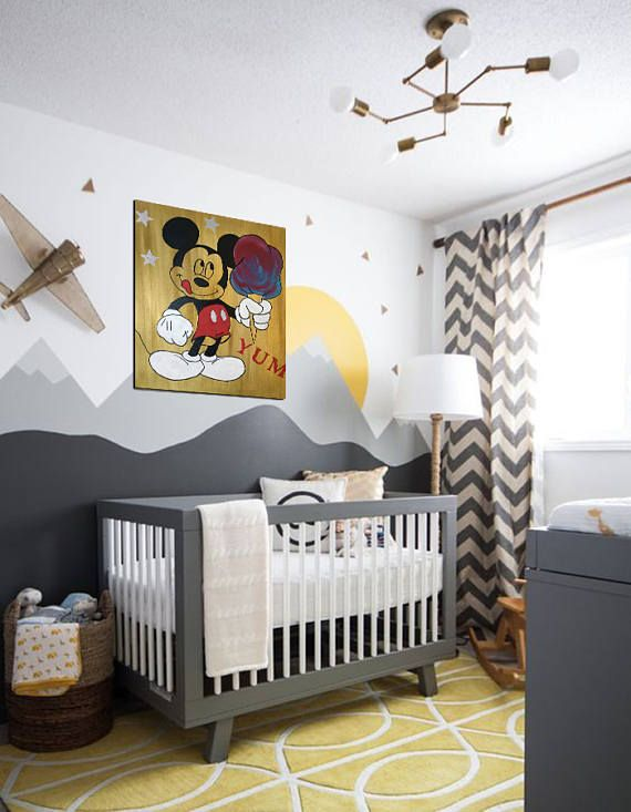Les 20 meilleures id es de la cat gorie b b mickey mouse for Decoration mickey chambre