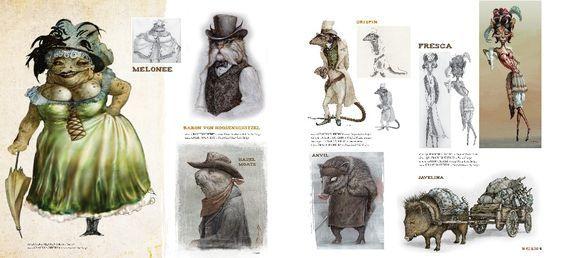 rango characters 1 rango pinterest character design
