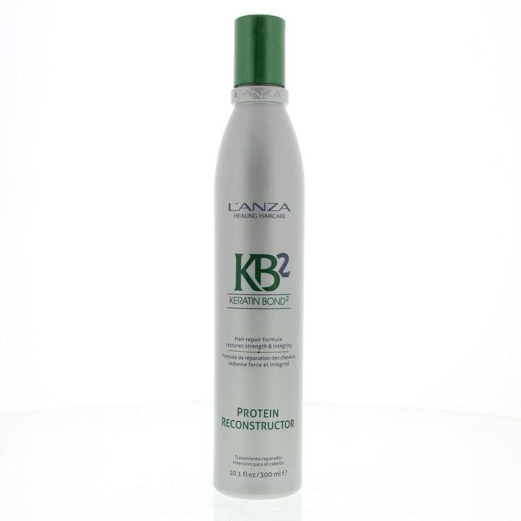 L'Anza Hair Repair KB2 Protein Reconstructor Conditioner Alle Haartypen 300ml  Description: L'Anza Hair Repair Protein Reconstructor.Eiwitrijke behandeling draait ernstige schade van het haar om en herstelt de elasticiteit en haarkracht. Voegt extra Keratine Proteïne en voedingsstoffen toe ideaal voor zwak of chemisch behandeld haar. Reduceeert breuk en gespleten haarpunten. Verzorgende plantaardige werkstoffen van: Brandnetel extract Abrikozenpittenolie en Algen extract.Gebruik: Na de…