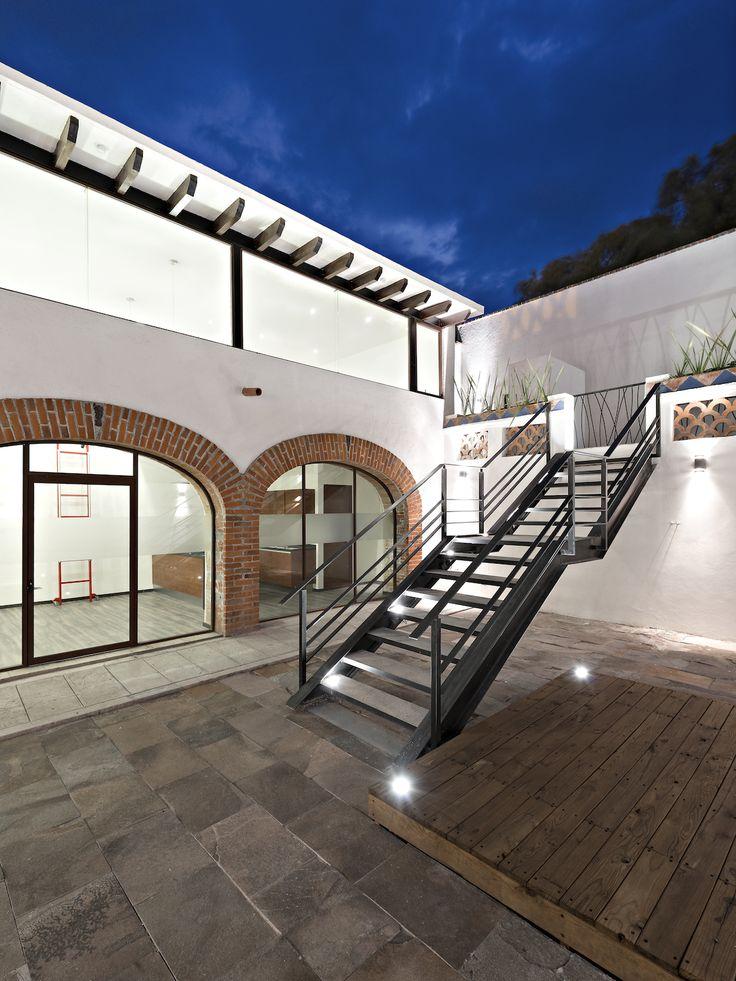 Hacienda San Antonio | Dionne Arquitectos + Posada Arquitectos #stairs #outdoor #architecture