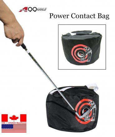 A99 Golf Power Contact Bag black