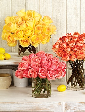 Fair Trade Certified Roses make a Summer Statement at Calyx Flowers