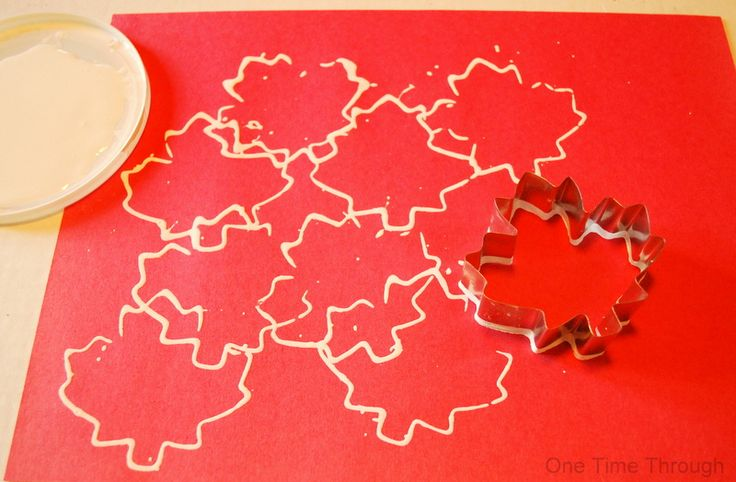 Canada Day Maple Leaf Printing