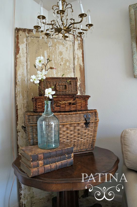 Savvy southern style collecting lidded baskets from Savvy home and garden