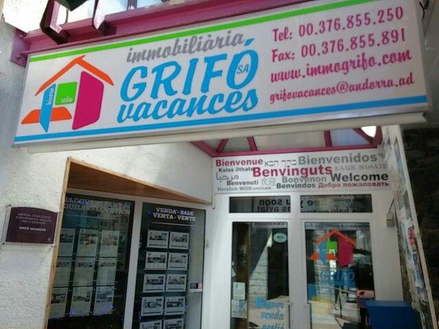 Immogrifo.com Location appartement Pas de la Case Andorra T.+376855250