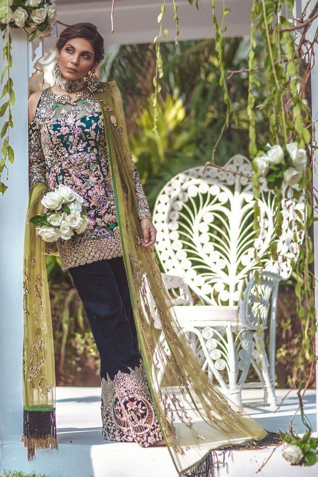Pakistani couture by Elan