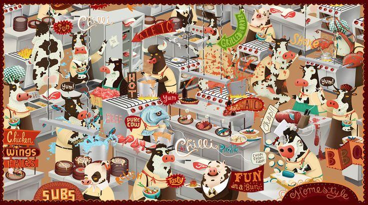 Creative Illustration Website Design by Emblem, see more at www.emblem.ie