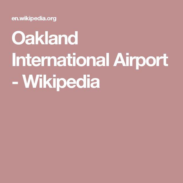 Oakland International Airport - Wikipedia
