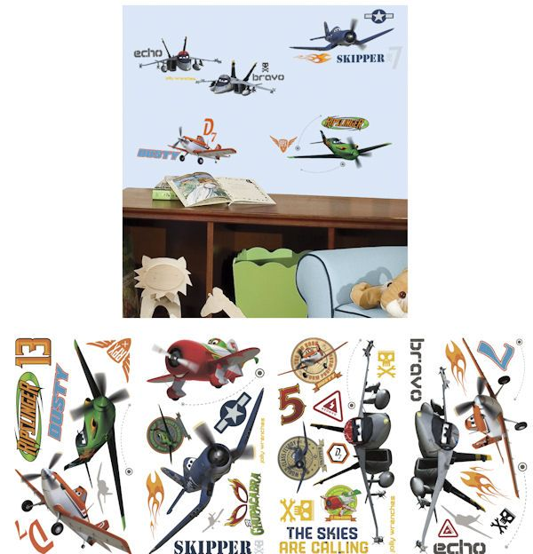 Elegant Disney Planes Peel And Stick Wall Decals   Wall Sticker Outlet Part 31