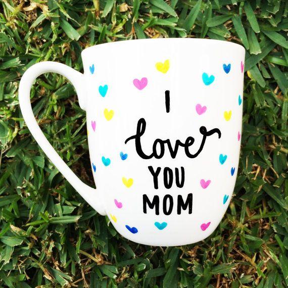 I love you mum, happy mother's day coffee mug