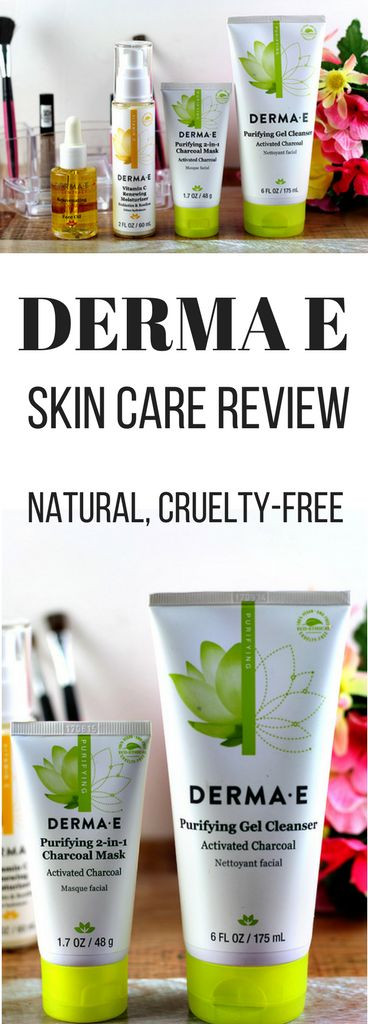 DERMA E Natural Skin Care Review #skincare
