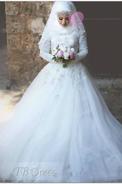 ♥♥Wedding Dress For Muslim Women