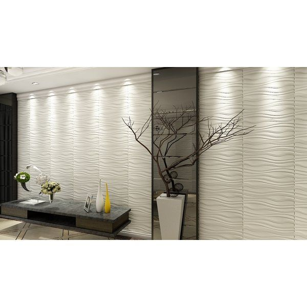 Porter Mahoney 19 7 X 19 7 Vinyl Wall Paneling In 2020 Wall Design 3d Wall Panels Vinyl Wall Panels