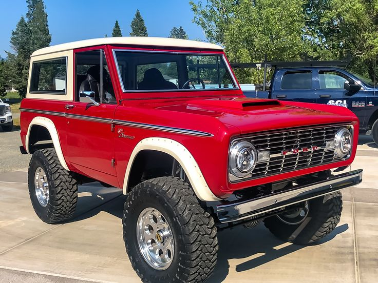 1968 Ford Bronco Sport For Sale