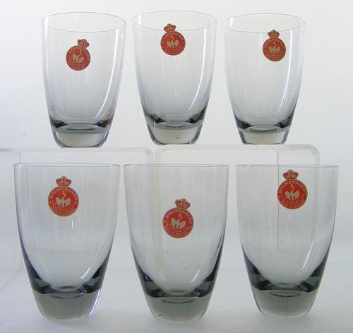 """Holmegaard """"Copenhagen"""" water glasses"""