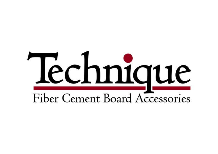 Logo design for the company that produces fiber cement board accessories.