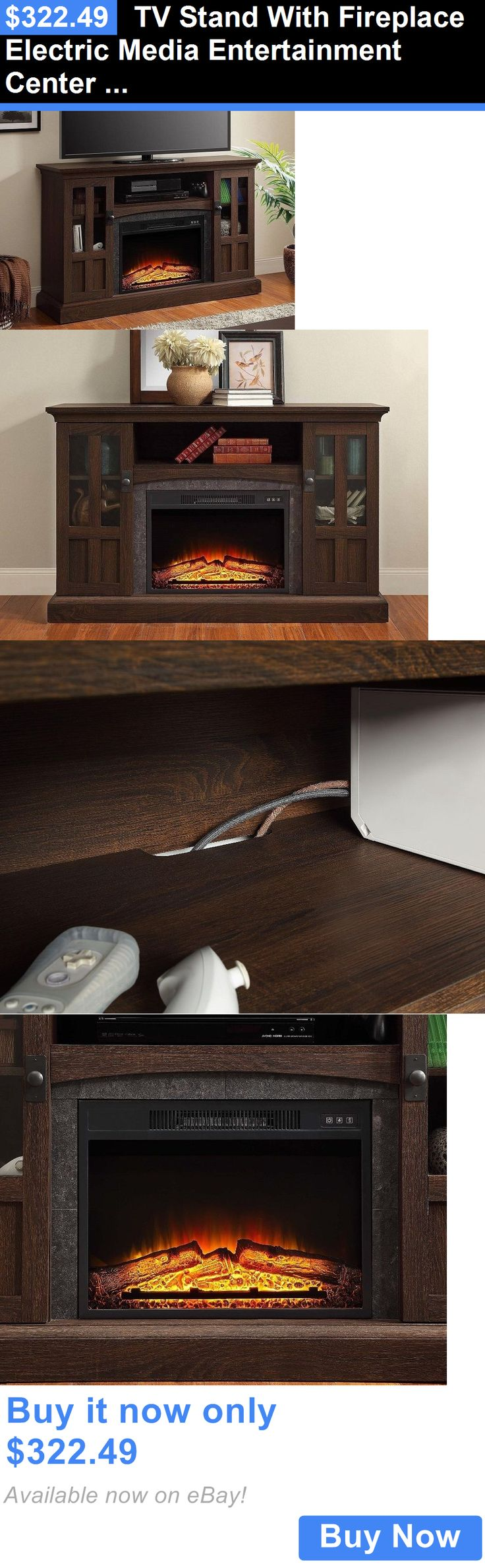 26 best best electric fireplace tv stand images on pinterest