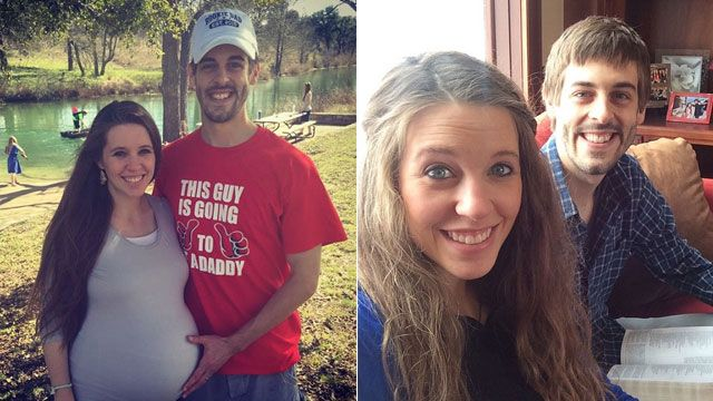 Jill and Derick Dillard will welcome their new bundle of joy any day now! The dad-to-be posted an Instagram pic on March 18, 2015 of the expectant parents in Texas, writing: 'We had a great time with family on vacation, but it doesn't look like we're going to have a Texas baby. #familyvacation #babydilly #19kids.' Click the pics to track the 19 Kids and Counting star's pregnancy!