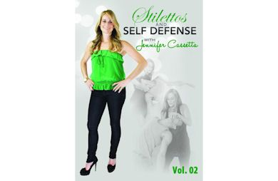 We Tried It: A Self-Defense DVD for Women. STILETTOS AND SELF DEFENSE. LOOK GOOD AND KICK BUTT ALL AT THE SAME TIME.