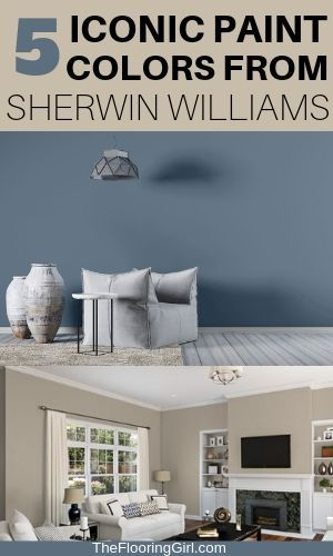5 Iconic Paint Colors For 2019 From Sherwin Williams And