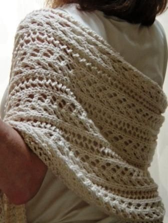 Free Pattern: Summer Love Wrap by Katherine Fagan @ DIY Home Ideas Knit Lov...
