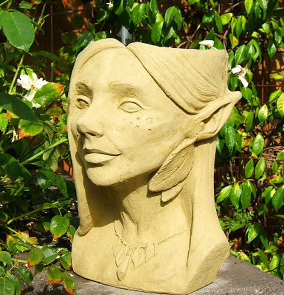 1000 images about head planter on pinterest gardens planters and garden planters - Medusa head planter ...