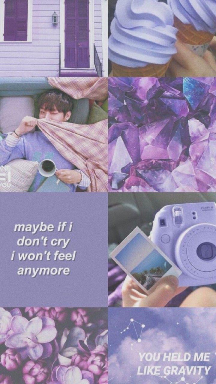 Purple Wallpaper Tumblr Ungu Gambar Ngetrend Dan Viral