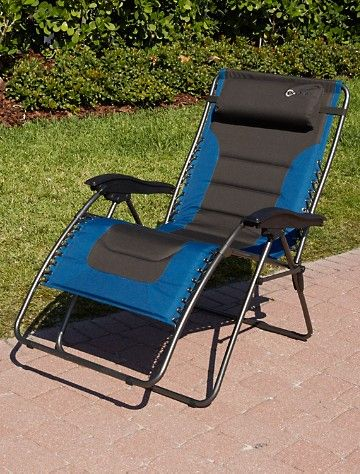 Two Tone Extra Wide Zero Gravity Chair Item # X2384 U2022 500 Lb