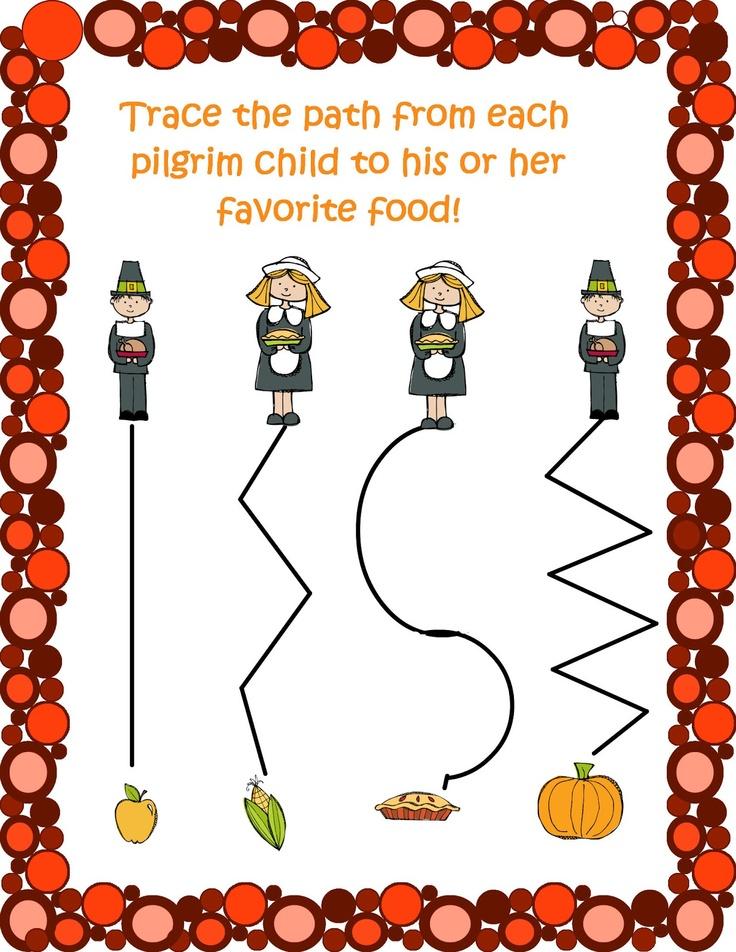 Printable Worksheets thanksgiving science worksheets : 67 best pilgrim week images on Pinterest   Kindergarten, Preschool ...