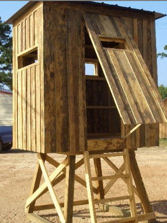 best homemade deer blind plans Ideas 1