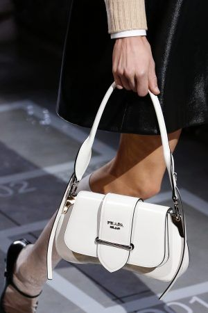 59e8a29211652d Prada White Sidonie Flap Bag - Spring 2019 | clothing in 2019 | Bags ...
