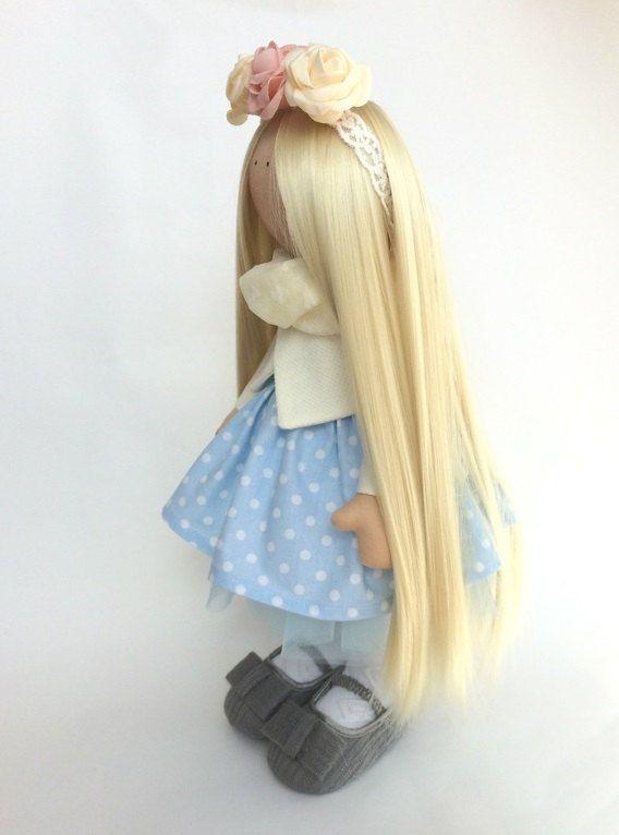 Interior tilda doll Art doll Sunny doll by AnnKirillartPlace