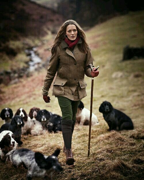 The Dead Stylists Society - Hiking in Tweed